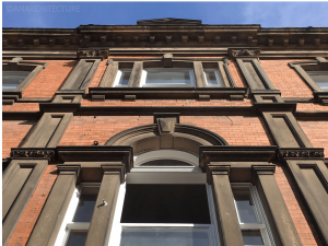 Following window and building repairs