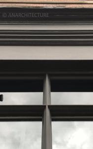 Glazing bar and fascia details