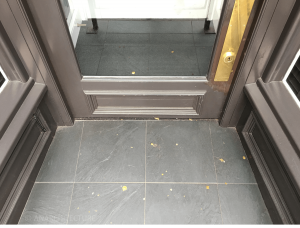New threshold at 10 Friar Gate