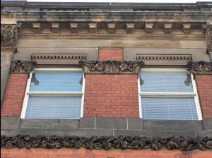 Second floor windows
