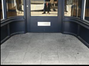 New threshold at 24 Iron Gate