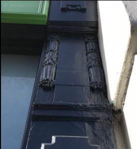 Renewed pilaster