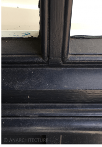 New sill details