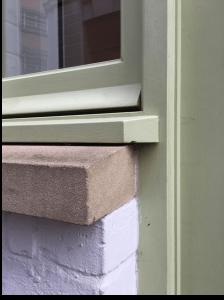 Window sill detail