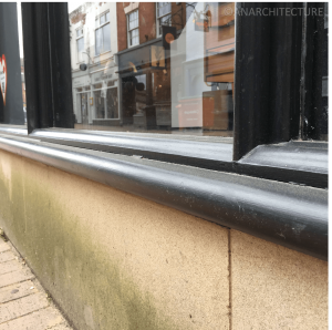 26-27 lambs tongue mouldings and sill