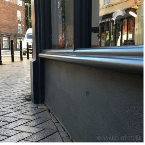 Sill details and lime render stall riser