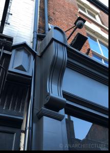 New pilaster bracket