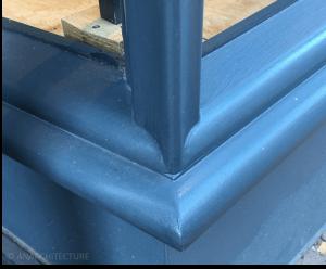 New corner detailing