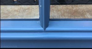 New glazing bar detail