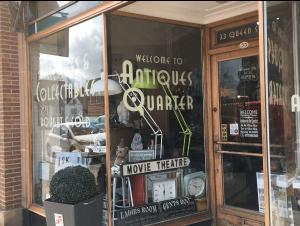33 Queen Street new bronze shop front