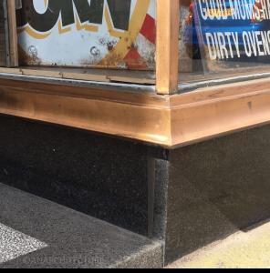 New corner detailing at 30-38 Queen Street