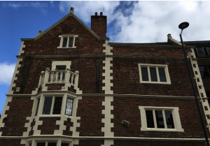 Becket Street elevation