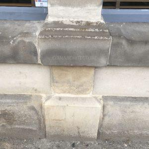 Stone pedestal repair