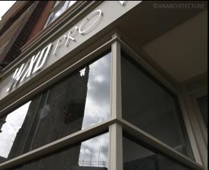 48 Queen Street corner detailing