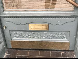 Renewed doorway details