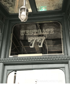 New fanlight at 77 Westgate