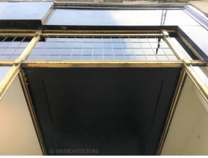 Soffit and transom