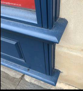 New stall riser and frame detailing