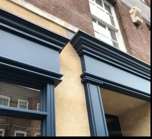 Separation between the smaller window