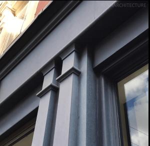 New pilaster details