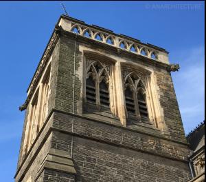 Stonework repairs to the tower