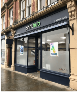 New shop front at 13 Market Place