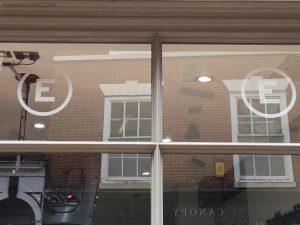 New glazing bar details