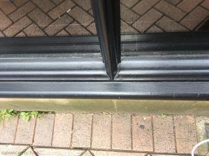Glazing bar and sill details