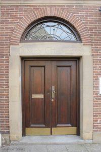Repaired oak doorway