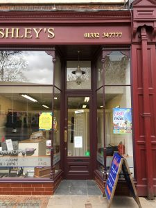 New shop front at 55