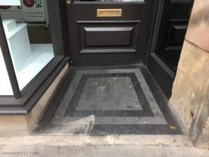New entrance threshold